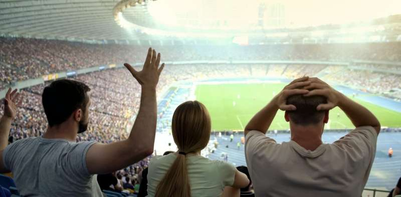 When football clubs are less successful, fans are more loyal to each other