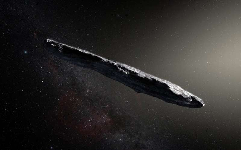 When stars get too close to each other, they cast out interstellar comets and asteroids