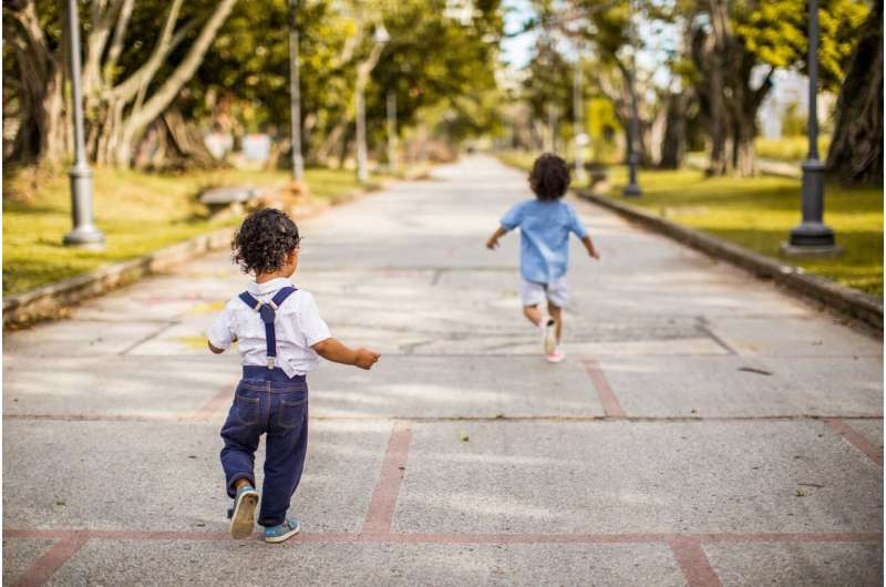 Whether at home, school or in child care, 3- to 5-year-olds experience similar levels of physical activity