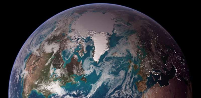 Why is the Earth blue?