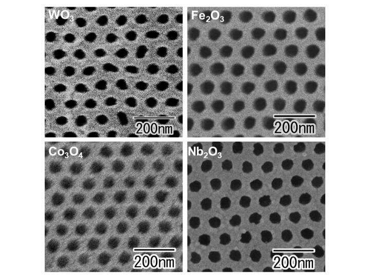 Wider horizons for highly ordered nanohole arrays