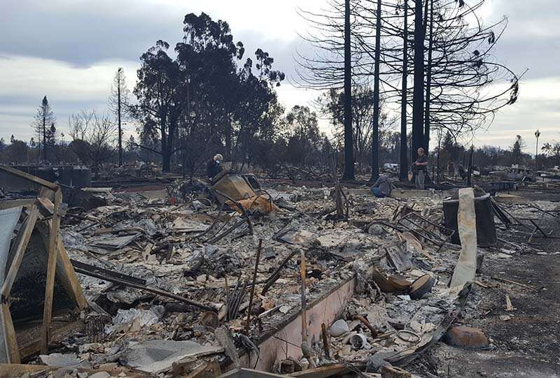 Wildfires can cause mental health damage that smolders years after the flames go out