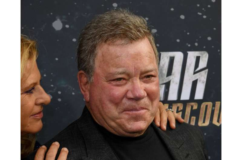 """William Shatner (pictured September 2017), who played Captain James T. Kirk in the cult classic TV series """"Star Trek,"""""""