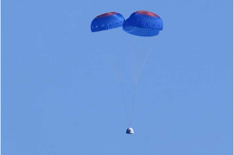 William Shatner, TV's Capt. Kirk, blasts into space