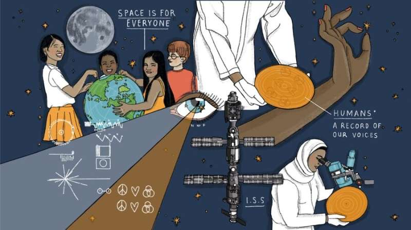 With the HUMANS project, a message that space is for everyone