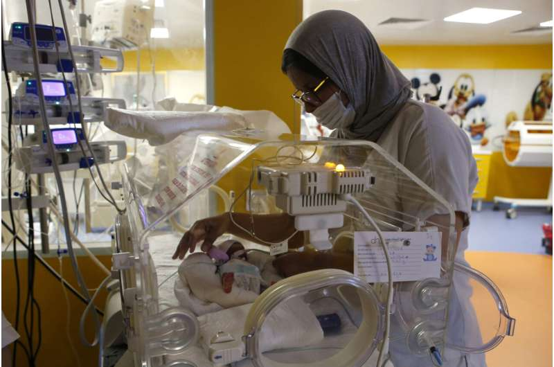 Woman from Mali gives birth to 9 babies in Morocco