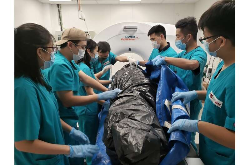 World's first team to run post-mortem imaging routinely to determine causes of cetacean death
