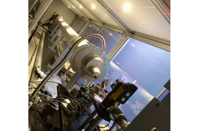 X-ray Ptychography performed for first time at small-scale Laboratory Source