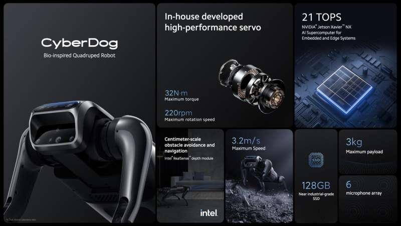 Xiaomi unveils CyberDog—a personable quadruped robot