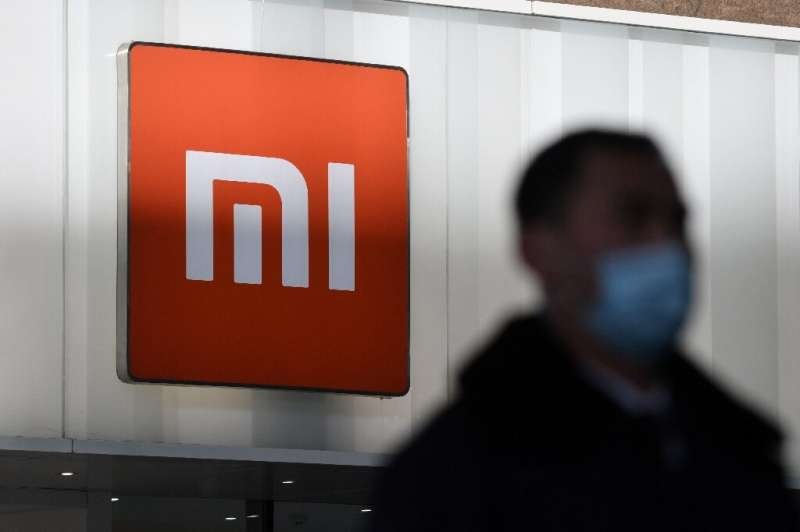 Xiaomi's stock price dropped more than 10 percent following the US blacklisting