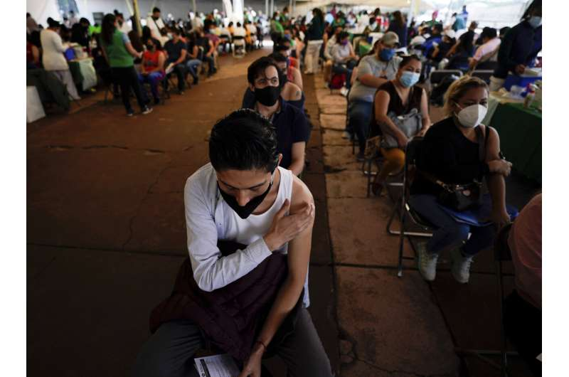 Youth focus of COVID-19 infections in Mexico's 3rd wave
