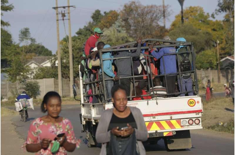 Zimbabwe returns to strict lockdown to fight virus surge