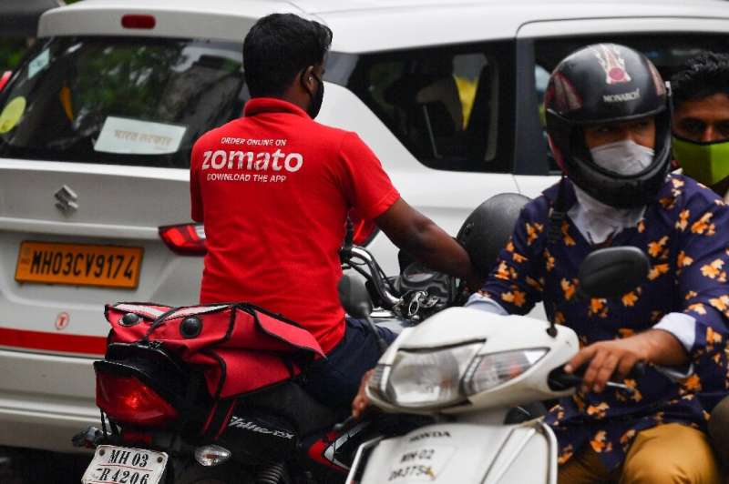 Zomato's delivery riders are ubiquitous in Indian cities
