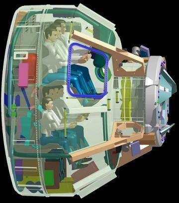 Boeing unveils its commercial capsule spacecraft