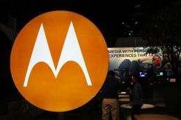 Motorola posts profit, strong sales; stock jumps (AP)