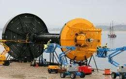 World's biggest Wave Hub installed off UK coast