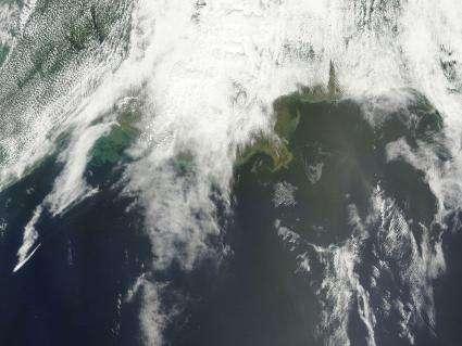 NASA Satellite Imagery Keeping Eye on the Gulf Oil Spill