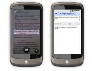 Google adds language translation to Android smartphones