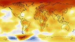 NASA research finds last decade was warmest on record, 2009 one of warmest years