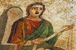 Mosaics provide missing pieces to popular ancient plays