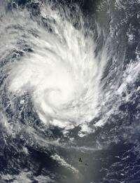 NASA sees large tropical cyclone Yasi headed toward Queensland, Australia
