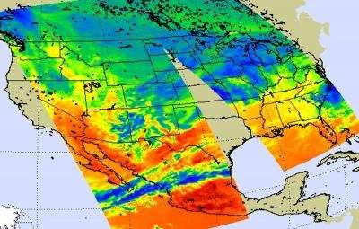 NASA satellites capture data on monster winter storm affecting 30 states