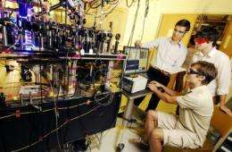 Researchers convert quantum signals to telecom wavelengths, increase memory times