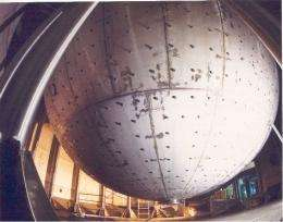 Borexino experiment detects geo-neutrinos