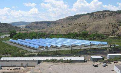 First ever hybrid solar-coal power plant operating