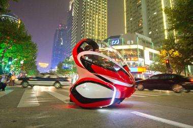 GM's EN-V Envisions Future of Personal Mobility