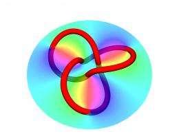 Tying light in knots