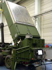 MEADS radar completes rotation tests, prepares to move to test range