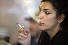 A compound in smokers' breath