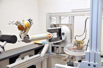 Advanced Robotic Arm Controlled by Monkey's Thoughts (w/ Video)