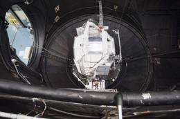 Alpha Magnetic Spectrometer experiment takes off for Kennedy Space Center