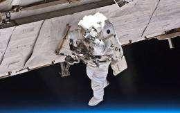 A NASA astronaut