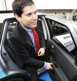 AP Interview: Electric car boss sees global change (AP)