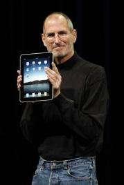 Apple's Jobs unveils `intimate' $499 iPad tablet (AP)
