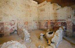Archaeologists find theater box at Herod's palace (AP)