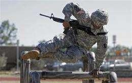 Army's new fitness tests add taste of battlefield (AP)