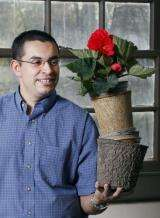 Auction shows consumers will pay more for sustainable flowerpots