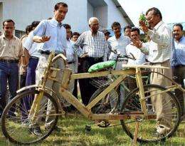 Bamboo Bikes Are Export Success For Ghana