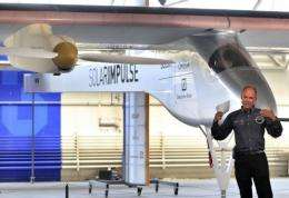 Bertrand Piccard plans to fly his 'Solar Impulse' around the world over 20 to 25 days