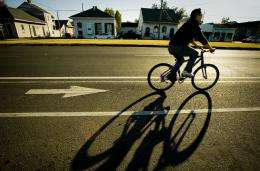 Bike lanes inspire more cycling, says study
