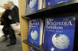 "Copies of the ""One-Volume Wikipedia Encyclopaedia"""