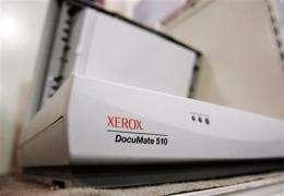 Cost cuts boost 4Q profit for Xerox during slump (AP)