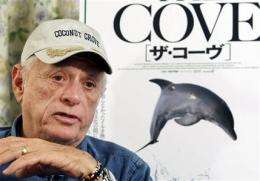 'Cove' director gives free DVD to Japan residents (AP)