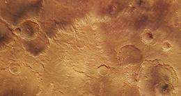 Craters young and old in Sirenum Fossae