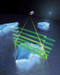 CryoSat to observe Earth's ice cover