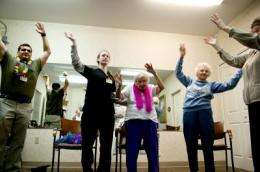 Dance therapy improves seniors' gait, balance, researcher finds